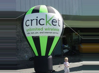 CILE Factory direct sale newly Customized inflatable stand balloon model (Advertising,Promotions,Simulator,Event)
