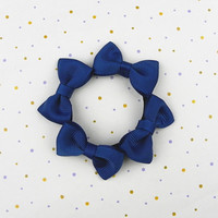 free sample hot sale cotton hair barrette for children