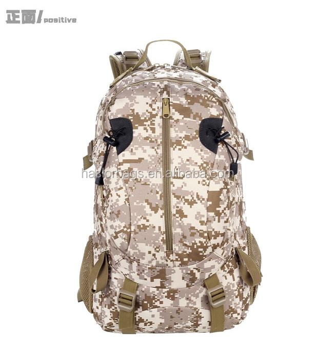 Haute qualité New Style Camouflage sac à dos militaire modèle sac à dos