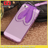 China wholesale 3D Bunny Rabbit TPU Soft Silicone Case for iPhone 5 5s Cartoon Mobile Phone Bags Cases Ear Stand Holder