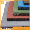 Colorful Gym rubber floor natural outdoor basketball court rubber mat