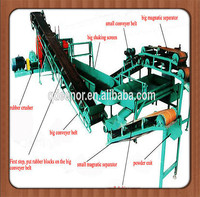 2014 China supplier waste tyre recycling production line/tyre reconditioning machine