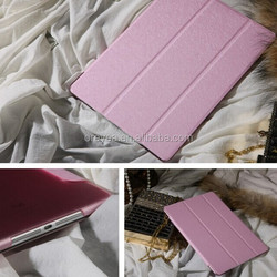 Factory wholesale smart magnetic leather case for apple ipad air