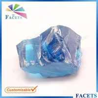 Facets Gems Synthetic Uncut Raw Topaz Rough Cubic Zirconia Prices
