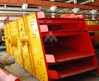 High quality efficiency horizontal stone vibrating screen in Shanghai