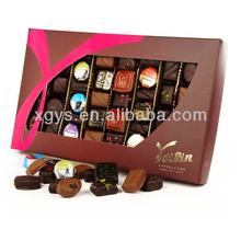 Sweet Paper Gift Box Packing For Choclate (XG-GB-416)
