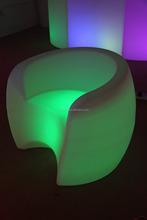 Color changing rechargeable LED Chair Lighting single sofa