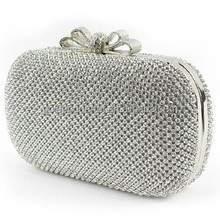 Fatcory wholesale part bag Rhinestone evening bags crystal lady bags