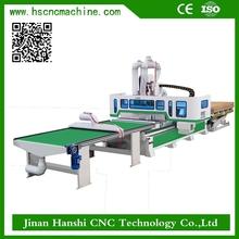 Alimentación automática centro de mecanizado HS-A 1325 CNC Router de maquinaria para la madera máquina de grabado
