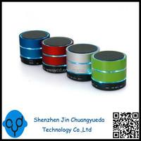 With 3 Led Flash Ring Circles Mini S09U Bluetooth Speaker Support TF USB FM S09 Speaker