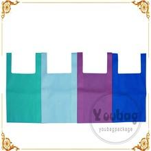 Cheap Reusable Ultrasonic NonWoven Shopping Bag Non woven W pouch bag TNT tote bag