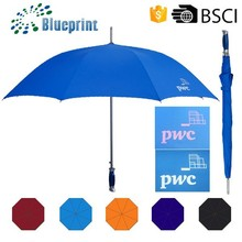 Giveaways Big Size Straight Golf UV Color Changing Umbrella