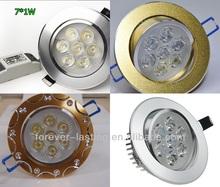 New design high power 5W round LED down light, down led light(CE, RoHS)