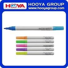 2015 Hot Selling Eco-friendly Erasable Liquid Chalk Marker Pen Glitter Whiteboard Marker Pen