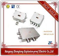 EJX Series electrical weatherproof explosion proof junction box with good price IP65