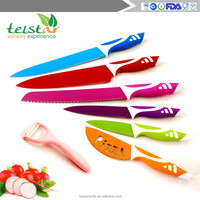 Factory direct sale stainless steel environmental protection 6 sets of household non-stick fruit knife sharp