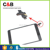 New Black Digitizer Touch Screen Glass W/ IC Chip Complete Part For iPad Mini cheap price