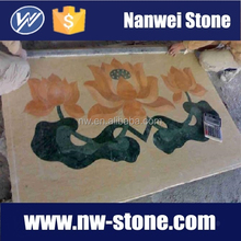 supplier in china Water -jet Medallion marble WITH CNC ,marble counter top,VANITY TOP MARBLE