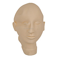 Hot Sell Permanent Makeup Practice Model Head , Closed Eyes & Mouth Model Head With Top-Grade Quality (CTT002)