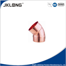 J9007 factory direct pricing copper 45 deg elbow cc