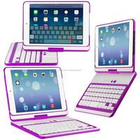 cheap 7.9 Inch Bluetooth Keyboard case For iPad mini2 with 360 Degree Rotating folding bluetooth mini wireless keyboard for ipad