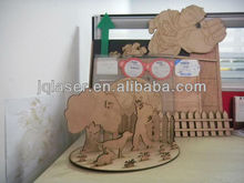 laser engraving machine to make wood craft/name plate