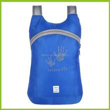 New design fold up pocket bag sport backpack