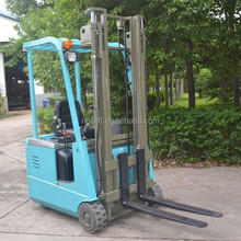 sit-on comfortable operation 3-wheel electric forklift truck