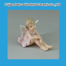 Cutely angel design ceramic home decoration