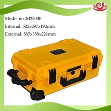 Tricases M2500 Hard Plastic case with wheels