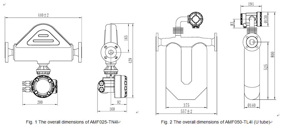 Схема массомера micro motion