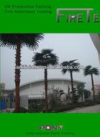 Artificial Washongtonia palm tree