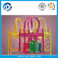 Hot sale high quality clear vinyl pvc bags wholesale