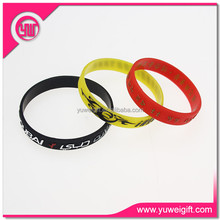 2015 OEM wholesale festival snap silicone wristband/ bracelet in music party, sport event