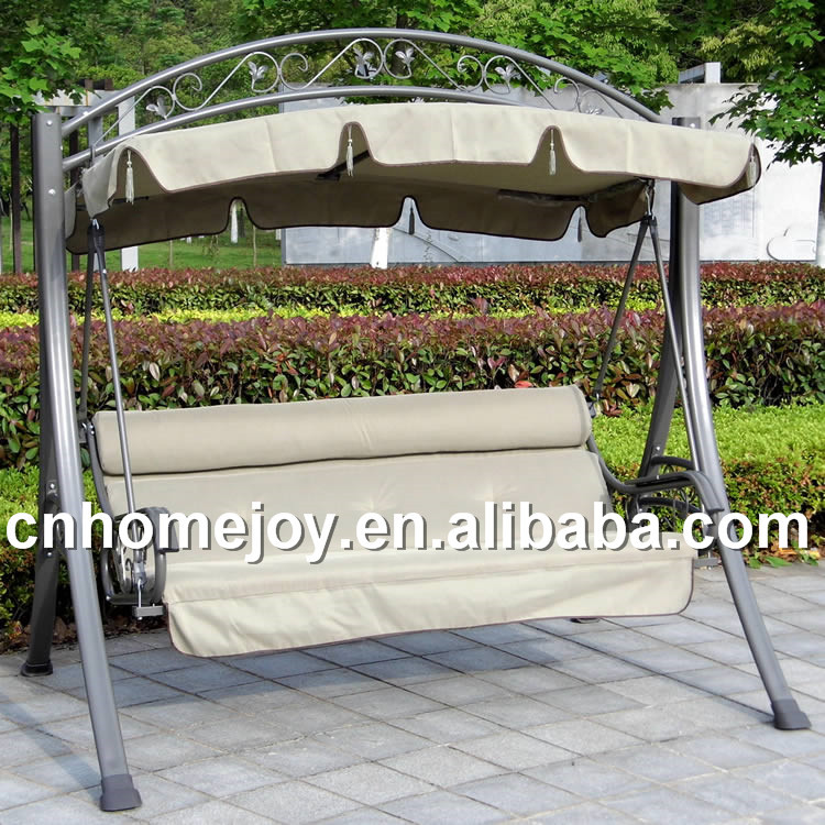 outdoor 3 person swing cushions 2