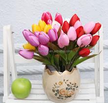NZ-6010 cuspidal tulip-9buds decorative artificial flower