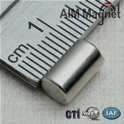 Strong cylinder ndfeb magnet manufacture for sale