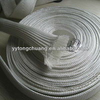 uncoated fiberglass sleeving for wire covering