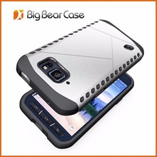 Factory hybrid cell phone cover for samsung galaxy s6 active