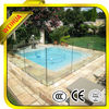 LT 8mm 10mm 12mm low price standard tempered glass swimming pool panels with AS/NZS2208 and CE certification