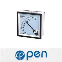 Square Type Moving Coil Power Factor Meter,Analogue Panel Meter