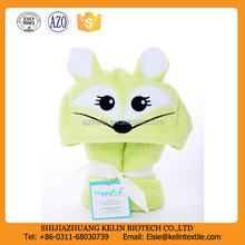 super soft custom design terry cotton Hooded Bath towel for kids