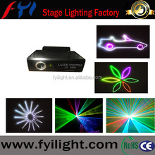 Stage lighting professional 2w RGB full color animation laser light