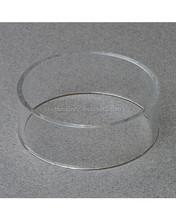 Clear Circle Acrylic Ball Display Tub, Acrylic Basketball, Football, Volleyball, Soccer, Softball Display Stand