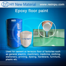 epoxy resin floor coating for concrete