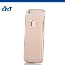 Hybrid aluminum TPU mobile phone case for iphine 6