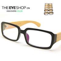 New Designer bamboo glass frames eyes B004