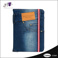 New Style Jean Leather Case For Asus Fonepad