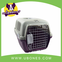 plastic colorful travel dog carrier colorful dog cage for sale Pet products