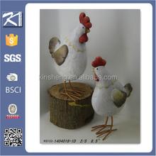 arts and crafts ceramic garden decoration chicken